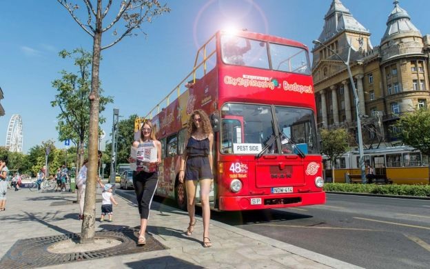 City Sightseeing Budapest: Hop-On, Hop-Off Bus Tour