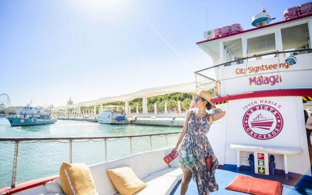City Sightseeing Malaga: Boat Tour
