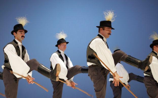 Hungarian Folk Dance at Danube Palace, Budapest