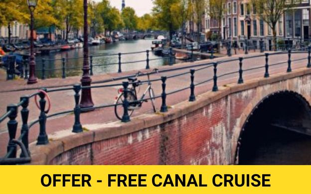Amsterdam Bus Tour with Delft, The Hague & Madurodam Visit + Free Canal Cruise