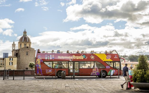 City Sightseeing Florence: Hop-On, Hop-Off Bus