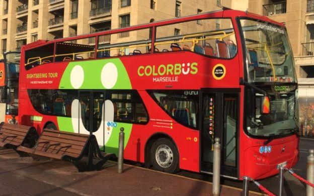 Colorbus Marseille: Hop-On, Hop-Off Tour