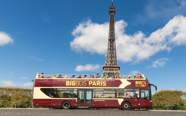 Big Bus Paris Hop-On, Hop-Off Tour, Skip-the-Line Louvre Ticket and Museum Pass