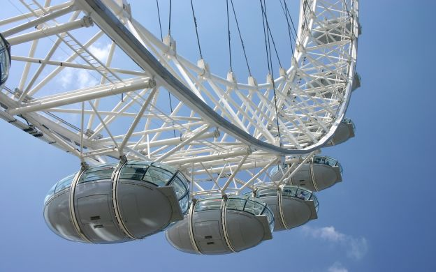 City Tour London: Hop-On, Hop-Off Bus with London Eye Ticket