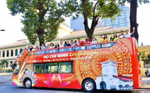 Ho Chi Minh City Hop-On, Hop-Off Red Bus Tour