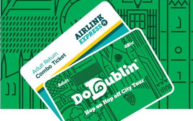 Do Dublin: Hop-On, Hop-Off Tour and Dublin Airlink Express