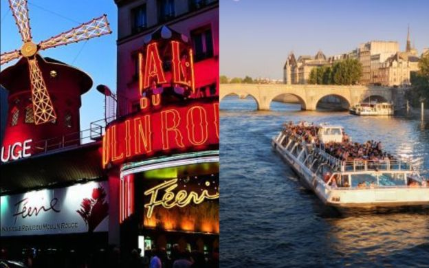 Moulin Rouge 11pm Show and Seine River Cruise Ticket – Saver Combo!