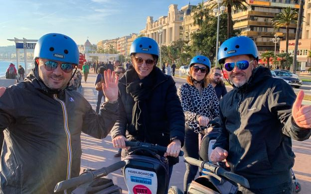1-hour Nice Sightseeing Segway Tour with Expert Guide