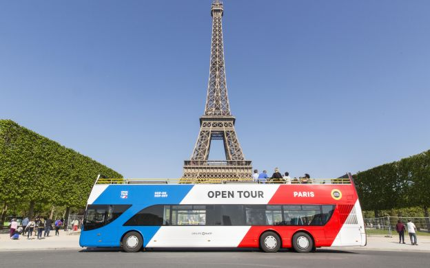 Paris Open Tour: Hop-On Hop-Off