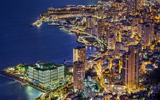 Monaco and Monte-Carlo by Night from Nice