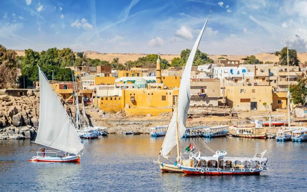 River Nile Cruise in a Felucca:  An Aswan Experience