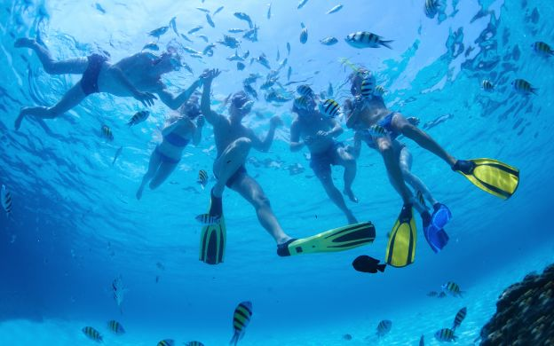 Snorkelling at Mahmya Island from Hurghada