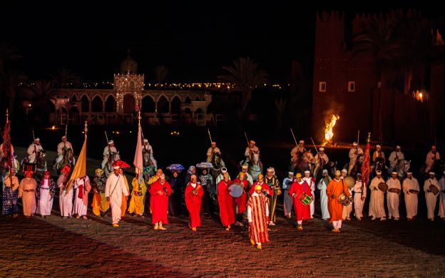 Fantasia Dinner and Moroccan Folklore Show, Marrakech