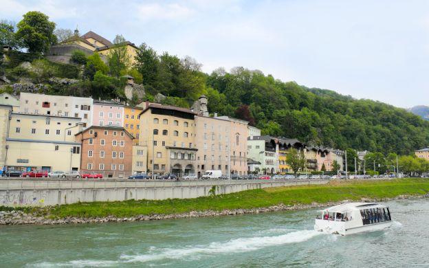 Salzburg City Tour & River Cruise