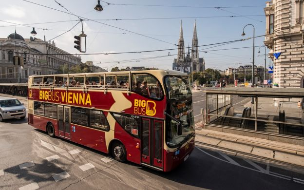 Big Bus Vienna: Hop-On, Hop-Off Tour | 10% OFF