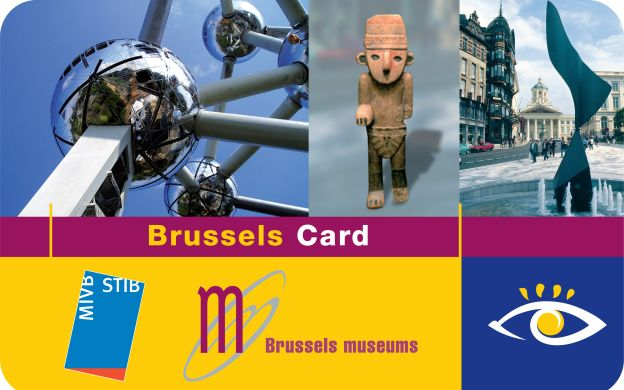 Visit Brussels Card: Hop-on, Hop-off Bus, Free Entry to 41 Museums, Discounts on Tours & Attractions and More