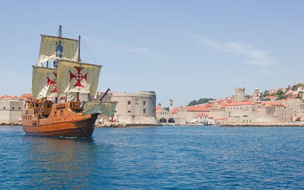 Elafiti Islands Galleon Cruise From Dubrovnik