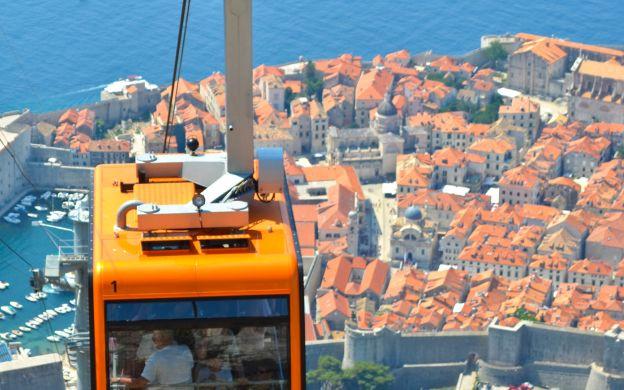 Dubrovnik Cable Car Ride & Walking Tour