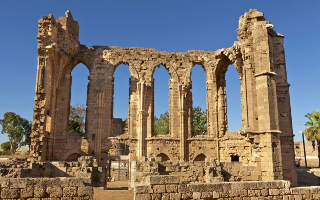 Famagusta Ghost Town and Salamis Guided Tour, from Paphos