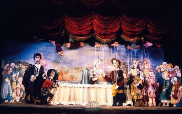 Mozart's Don Giovanni Puppet Show at National Marionette Theatre, Prague
