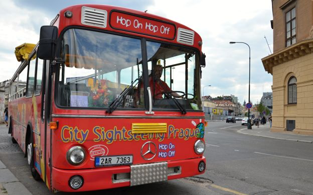 City Sightseeing Prague: Hop-On, Hop-Off Bus Tour