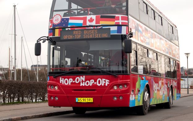 Red Sightseeing Copenhagen: Hop-On, Hop-Off Bus Tour with Boat Ride