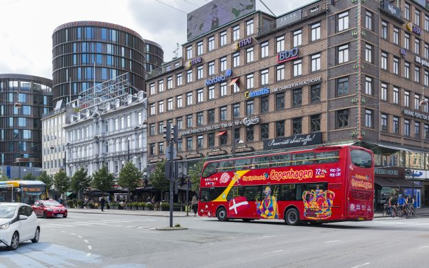 City Sightseeing Copenhagen: Hop-On, Hop-Off Bus Tour