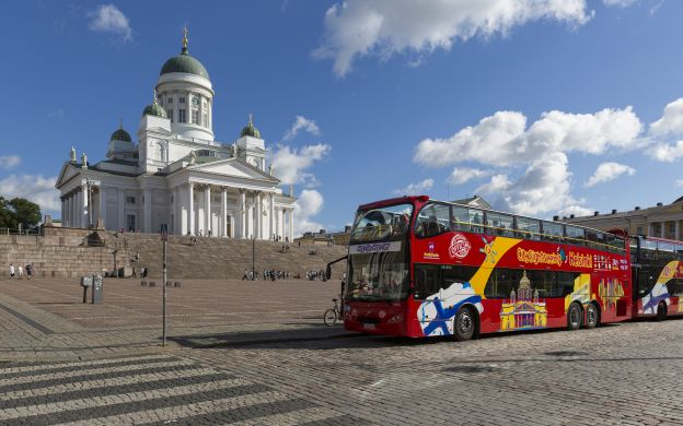 City Sightseeing Helsinki: Hop-On, Hop-Off Bus Tour