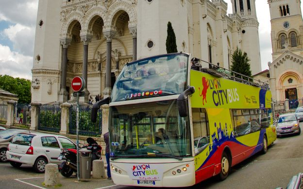 Lyon City Tour: Hop-on, Hop-off Bus