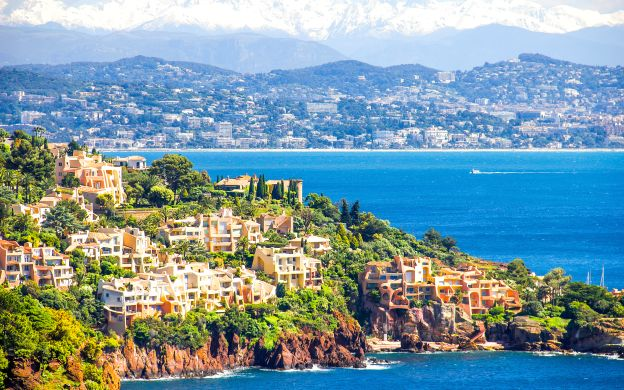 French Riviera Guided Biking Tour
