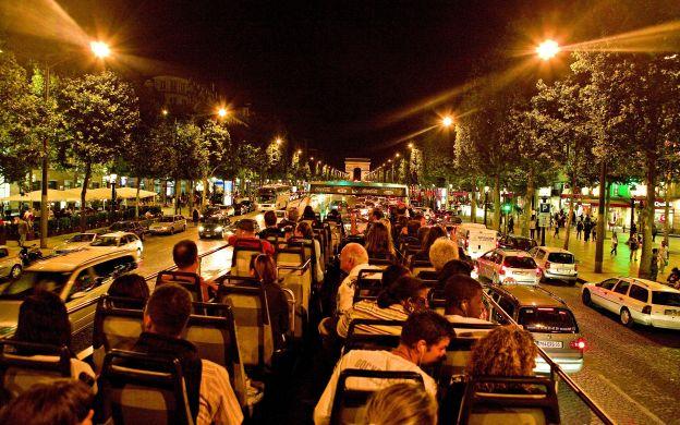 Paris Illuminations Night Tour by Open-Top Bus