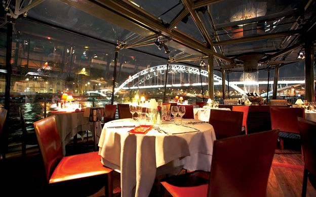 Dinner Cruise on Seine River With Hotel Transfers by Minivan - Bateaux Parisians