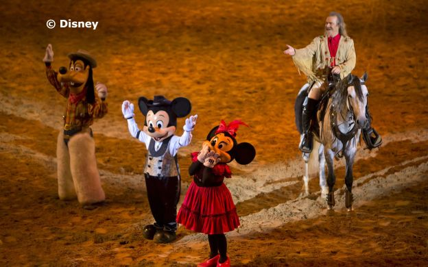 Buffalo Bill's Wild West Show…with Mickey and Friends!