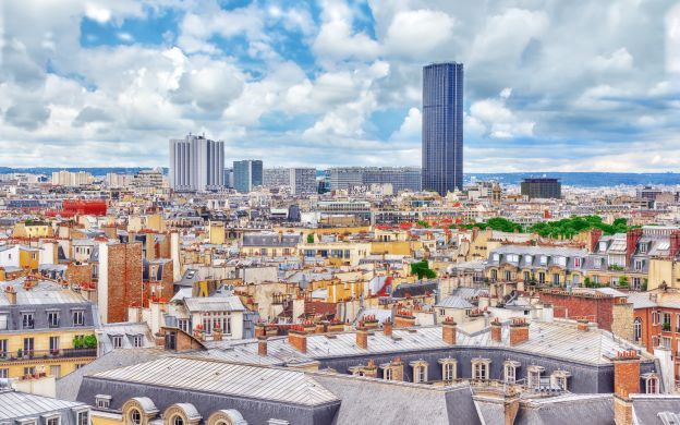 Montparnasse Tower Ticket with Panoramic Observation Deck Access & Paris City Tour