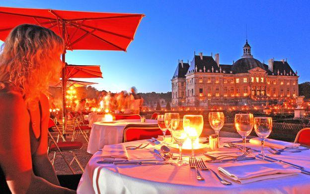 Magical Candlelit Evening at Châteaux de Vaux-le-Vicomte with Dinner, from Paris