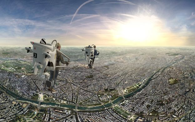 Flying over Paris: Virtual Reality Experience with FlyView 360