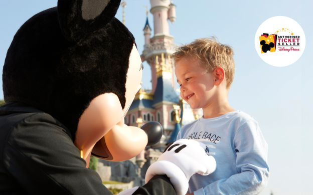 Triply Thrilling: Disneyland® Paris 3 Day 2 Park Hopper Ticket with Free Vouchers
