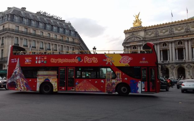 City Sightseeing Paris: Hop-On, Hop-Off Bus Tour