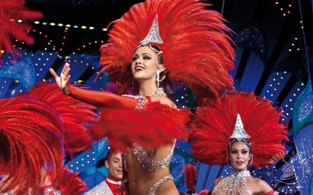 Moulin Rouge: Show, Champagne, Three Dinner Menu Options