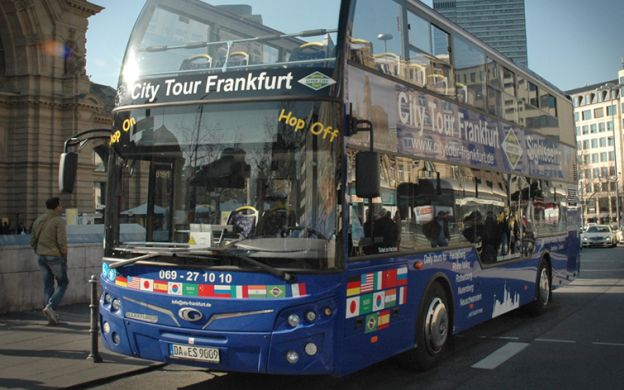 City Tour Frankfurt: Hop-on, Hop-off Bus Ticket