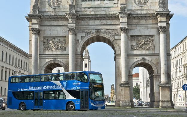 GrayLine Munich: Hop-on, Hop-off Bus Tour