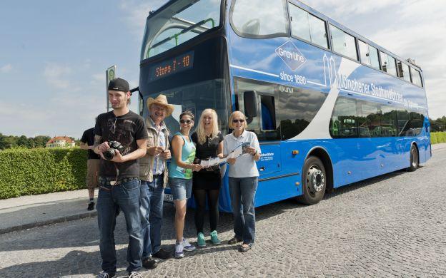 GrayLine Munich: Hop-on, Hop-off Bus Tour - Express