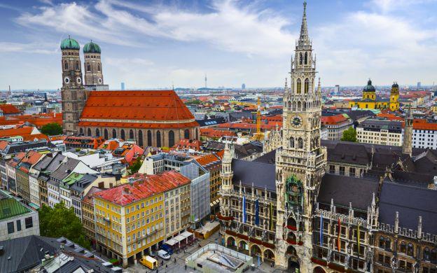 Munich City Tour & Bavarian Film Studios