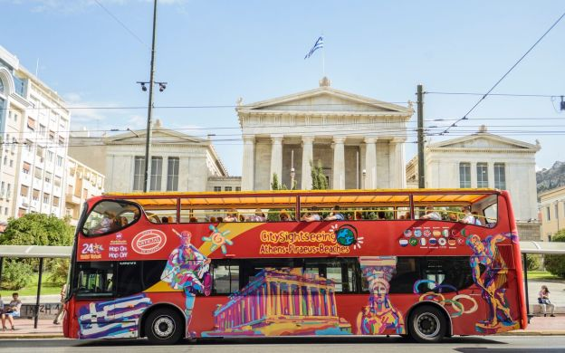 City Sightseeing Athens: Hop-On, Hop-Off Bus Tour