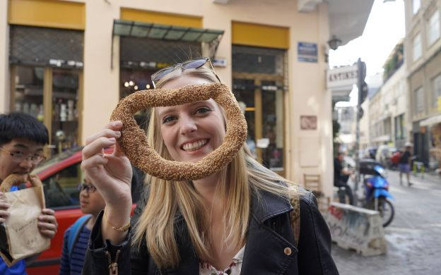 Athens Food Guided Tour through Famous Markets