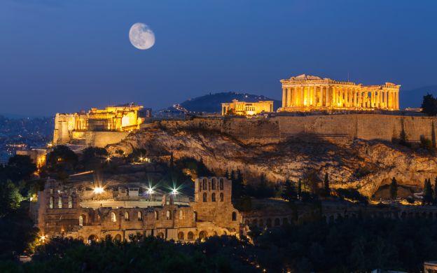 Night Sightseeing Tour of Athens