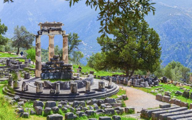 Exploring Greece's Ancient Wonders: Sightseeing Tour of Delphi
