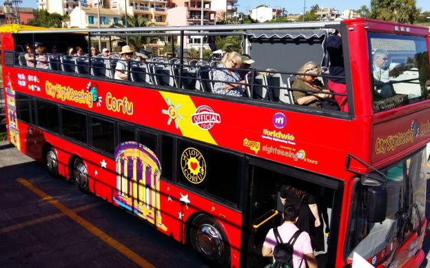 City Sightseeing Corfu: Hop-On, Hop-Off Bus Tour