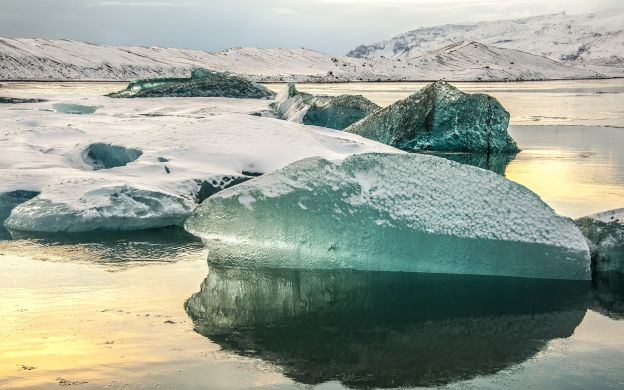 Glacier and Fjords Tour from Reykjavik: Ice Cave Visit, Glacier Mobile Ride, Sightseeing and More!