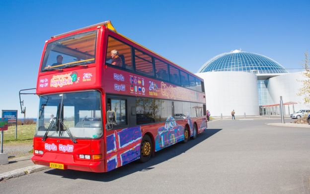 City Sightseeing Reykjavik Hop-On, Hop-Off Tour and Wonders of Iceland Tour